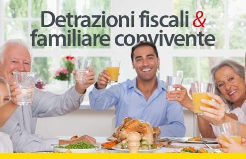 detrazioni fiscali e familiare convivente