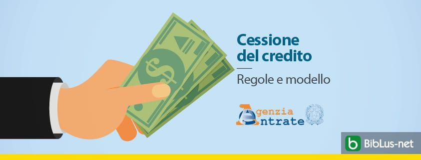 Cessione-del-credito-Regole-e-modello