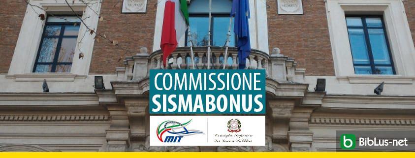 Commissione Sismabonus_