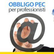 Obbligo PEC per professionisti