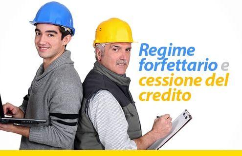Regime forfettario e cessione del credito
