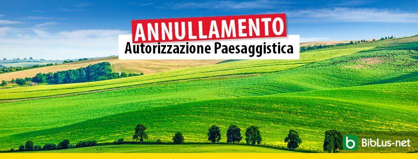 Annullamento-autorizzazione-paesaggistica