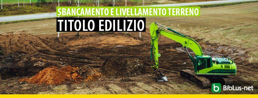Sbancamento-livellamento-terreno-titolo-edilizio