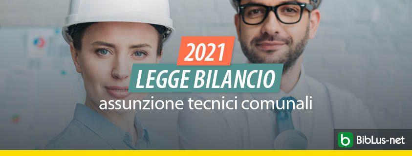 legge-bilancio-2021-assunzione-tecnici-comunali
