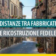 Distanze-fabbricati-ricostruzione fedele