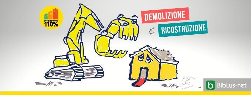 Superbonus demolizione e costruzione