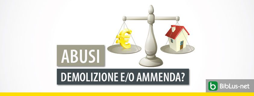 bilancia con simbolo euro e casa
