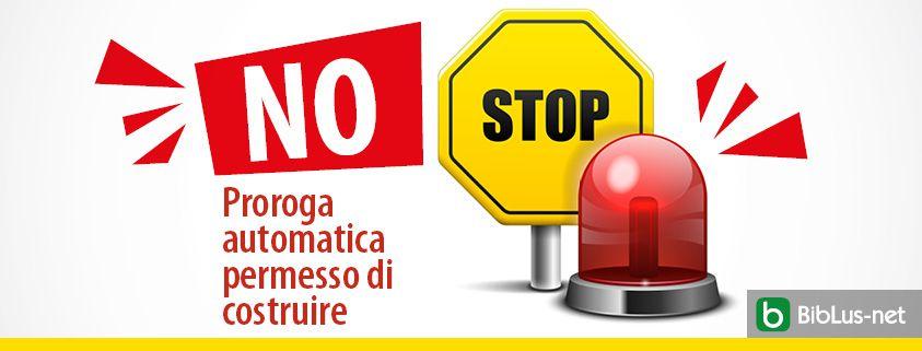 cartello stop con sirena emergenza