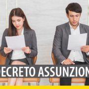 decreto-Assunzioni-gazzetta