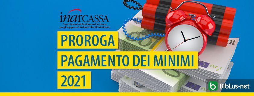 inarcassa-proroga pagamento-minimi-2021