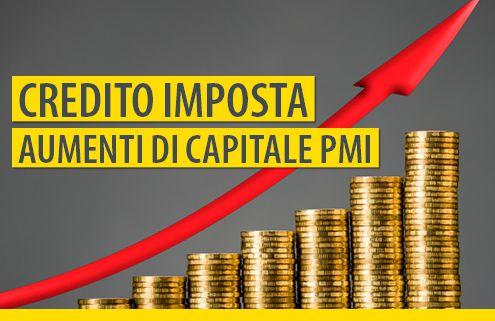 Credito-imposta-Aumenti-capitale-PMI