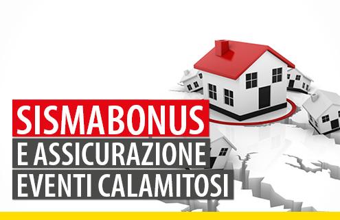 Sismabonus assicurazione eventi calamitosi