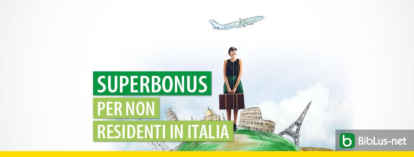 interpello AE Superbonus per non residenti in Italia