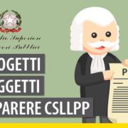 Progetti soggetti a parere obbligatorio del CSLP