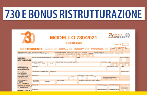 730 e bonus ristrutturazione: gli immobili in corso di ristrutturazione vanno dichiarati?