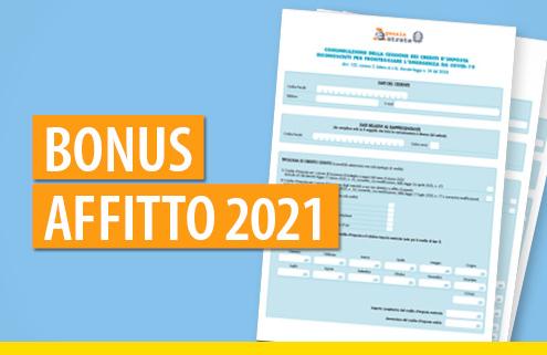 Bonus affitto 2021: aggiornato il modulo per la cessione del credito