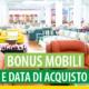 Bonus mobili: attenzione alla data di acquisto