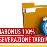Sismabonus 110% e asseverazione tardiva