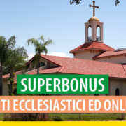Superbonus enti ecclesiastici ONLUS