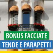 Sostituzione parapetti, tende ed illuminazione: quali interventi sono ammessi al bonus facciate