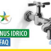 Bonus idrico: il decreto attutivo e le FAQ del Ministero