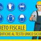 In arrivo modifiche al testo unico sulla sicurezza con il decreto fiscale 2021