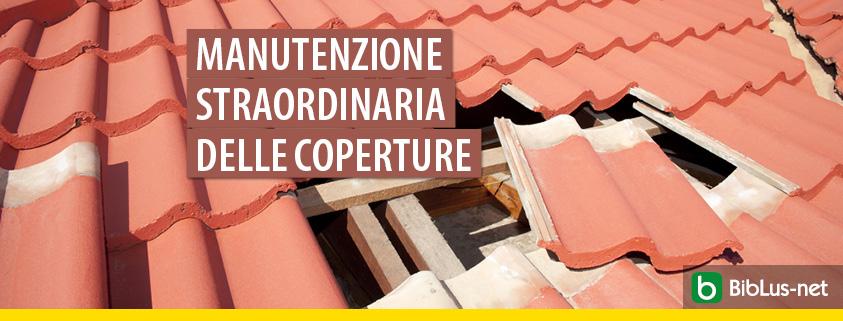 Sostituzione tegole con pannelli in lamiera: è manutenzione straordinaria