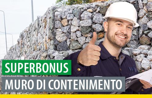 Superbonus e ricostruzione di un muro di contenimento: OK ma serve l'asseverazione