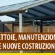 Tettoie: manutenzione straordinaria o nuova costruzione?