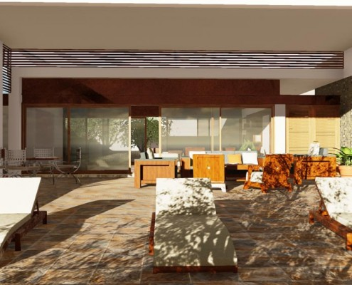 Render Casa Altabrisa 24 realizzato con Edificius