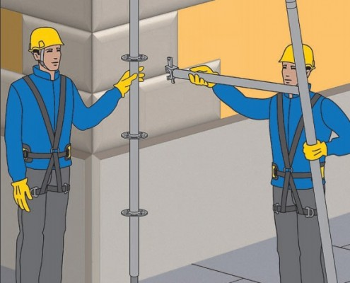 Sicurezza ponteggi