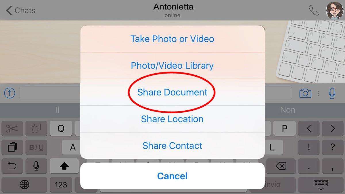 WhatsApp-Documenti