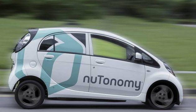nuTonomy - taxi senza autista