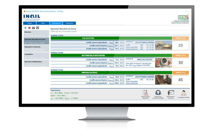 Rischio-Rumore - Software e Banca Dati
